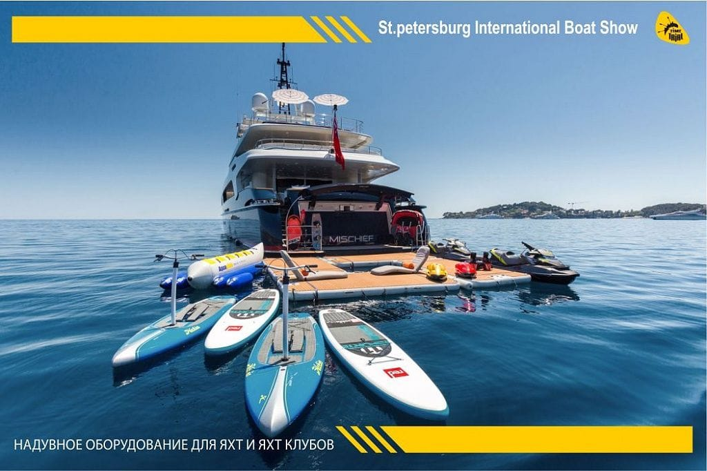 TimeTrial примет участие в St. Petersburg International Boat Show 2018